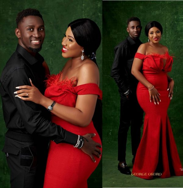 Check Out The Adorable Re-Wedding Photo Of Super Eagles Midfielder, Wilfried Ndidi