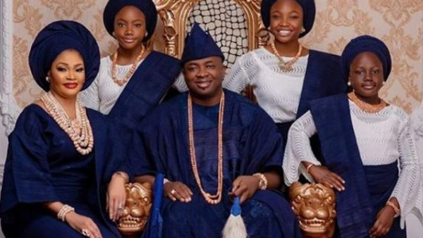 oba 600x338 - Lagos Monarch, Oba Saheed Elegushi Celebrates Wife Of 16 Years