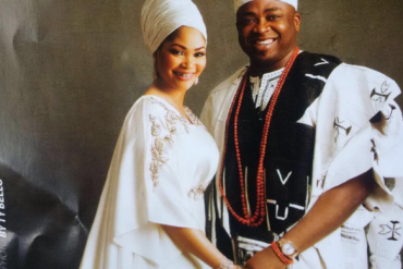 Lagos Monarch, Oba Saheed Elegushi Celebrates Wife Of 16 Years
