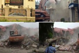 FG Demolishes Caramelo Night Club Weeks After Arresting Strippers There