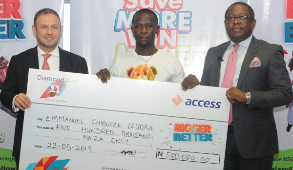 q22 600x348 - Customers win N59m in Access Bank's DiamondXtra Savings Scheme