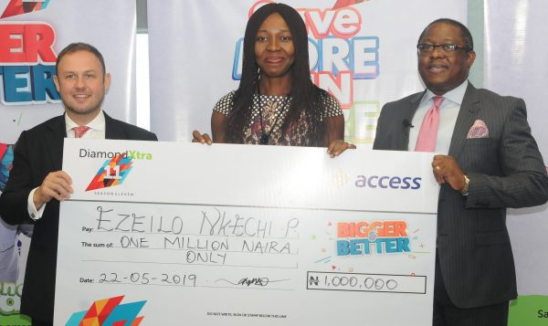 q33 1 600x357 - Customers win N59m in Access Bank's DiamondXtra Savings Scheme