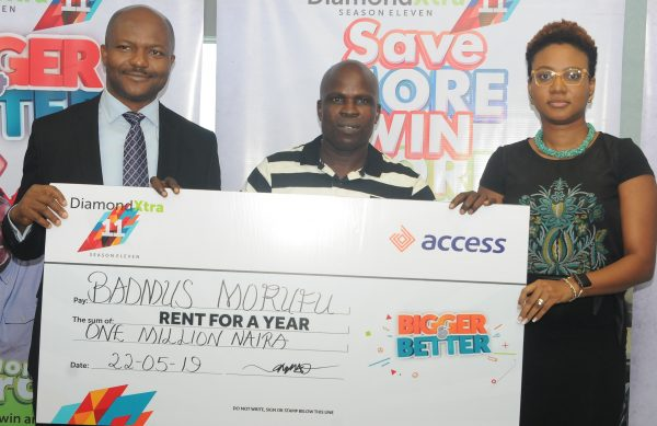 q44 1 600x389 - Customers win N59m in Access Bank's DiamondXtra Savings Scheme