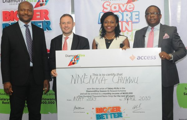 q55 1 600x385 - Customers win N59m in Access Bank's DiamondXtra Savings Scheme