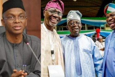 I defeated and retired the four political godfathers In Kaduna, Here Is How To End godfatherism In Lagos - El Rufai To Muiz Banire