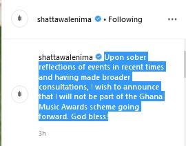 shat - Ghanaian Dancehall Artiste, Shatta Wale Takes Blood Oath