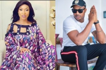 ''You Know Say Na We Wey Dey Industry Know You'' - Tonto Dikeh Warns Ik Ogbonna To Steer Clear Out Of Her Business