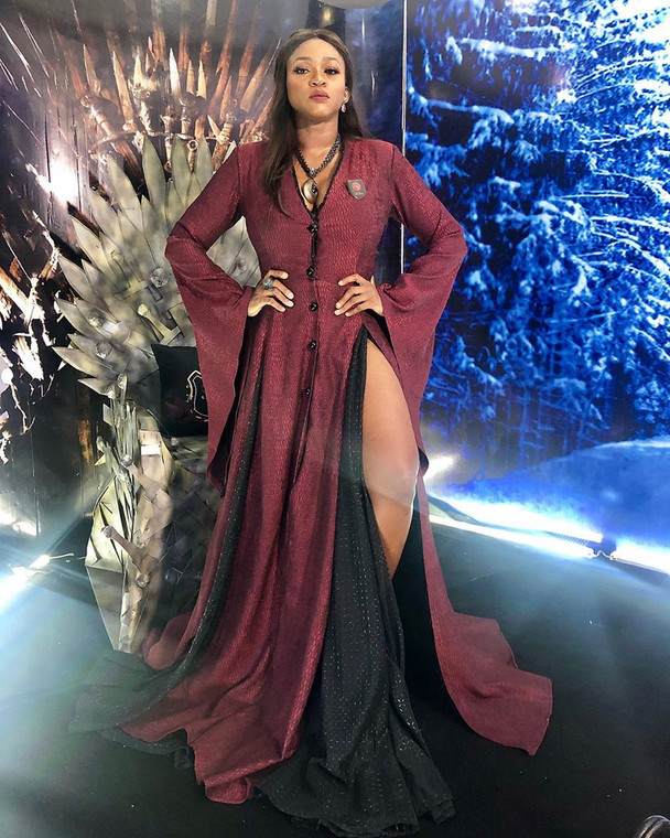 waje - Check Out Celebrities Who Turned Up For IK Osakioduwa's #GOT40 Themed Dress Code Party