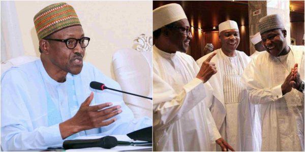 I do not rate saraki and dogara high - Buhari