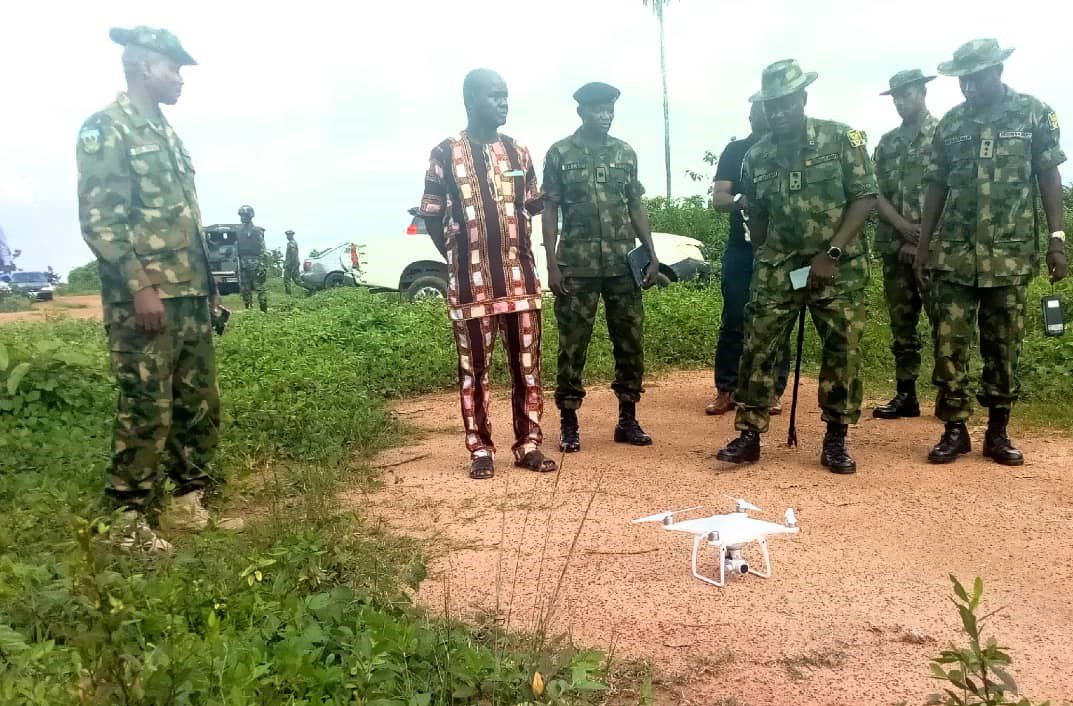 Nigerians mock the army after it released photos of drones it purchased to fight kidnapping