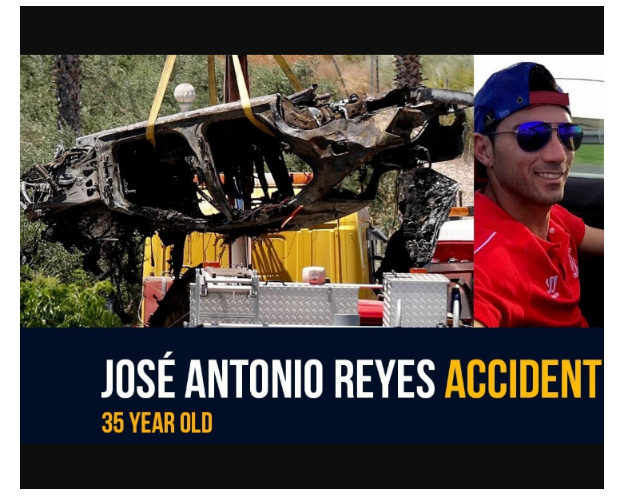 1 1 - [Photos]: Images from the crash site Jose Antonio Reyes died surfaces online