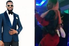 [Video]: Anita Joseph pole dances at Dbanj's 39th birthday