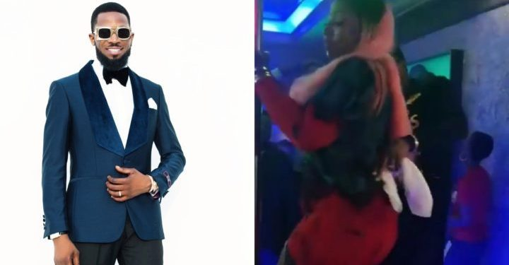 [Video]: Anita Joseph pole dances at Dbanj's 39th birthday