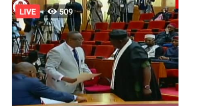 1 12 - [Photos]: Rochas Okorocha sworn in as senator in Imo