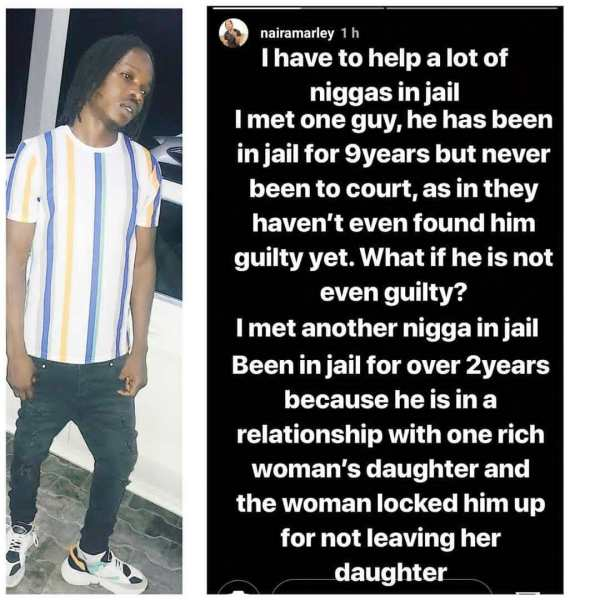 Naira Marley promises to help people wrongfully jailed