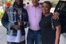 Ben Bruce reacts to Burna Boy snagging a BET Award