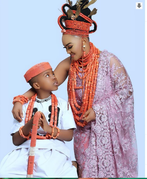 1 27 - 'I love you my everything' – Mercy Aigbe celebrates her son as he turns 9