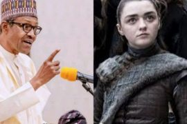 Reno Omokri states the difference between Buhari and Arya Stark of Game Of Thrones