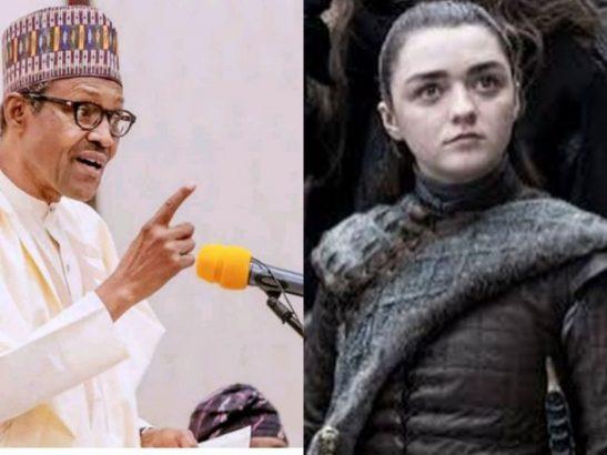Reno Omokri states the difference between Buhari and Arya Stark of Game Of Thrones