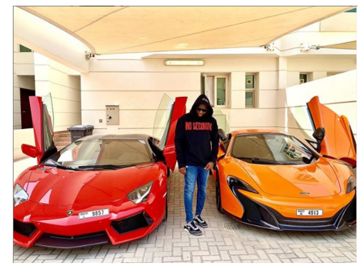 My money so powerful' - Mompha brags as he flaunts his luxuries cars