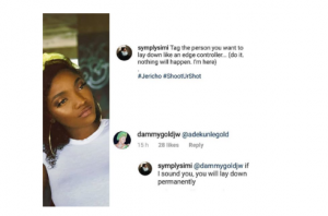 1 45 300x198 - Between Singer, Simi, And A Lady Who Wants To Sleep With Her Husband, Adekinle Gold