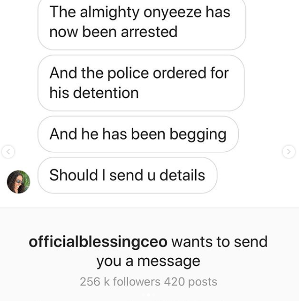 'I got justice' - Blessing Okoro claims Onye Eze has been arrested