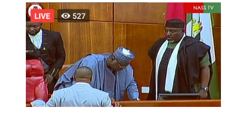 2 6 - [Photos]: Rochas Okorocha sworn in as senator in Imo