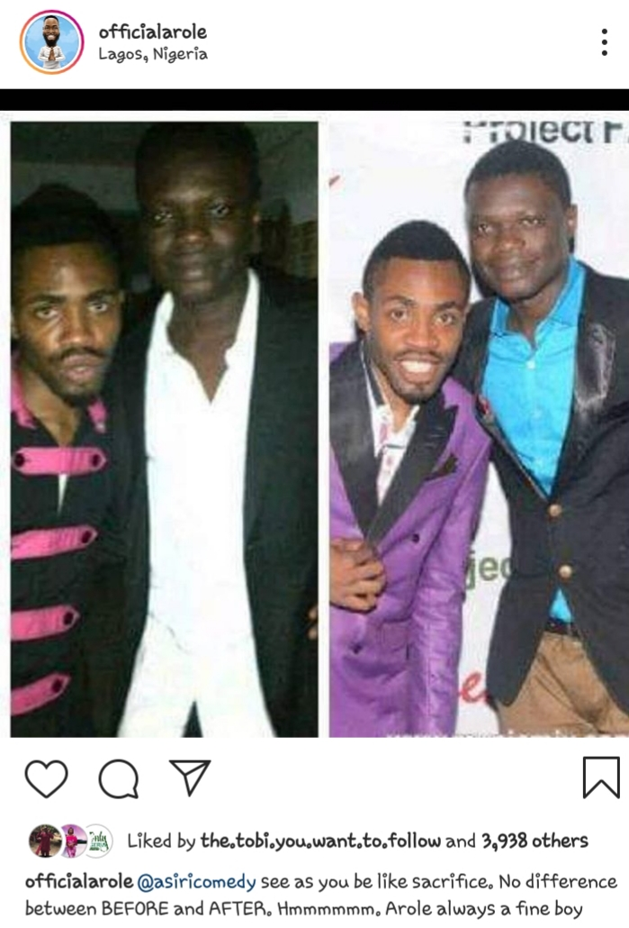 20190605 214638 - Check Out Throwback Photos of Woli Arole And Asiri Comedy