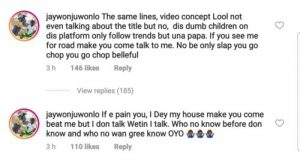 20190611 181356 300x163 - Jaywon Shades Zlatan Ibile Over Similar Song Title, He Reacts