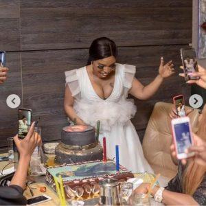20190617 205706 300x300 - [PHOTOS]: Actress, Halima Abubakar Breaks Down As Ruggedman Organizes A Birthday Bash For Her