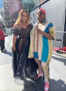 20190624 144531 217x300 - [PHOTO]: Check Out Singer Teni's Outfit To The 2019 BET Awards