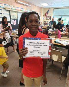 2face 1 241x300 - [PHOTOS]: 2Face's son, Justin Idibia Graduates From 5th Grade