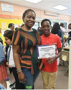 2face 238x300 - [PHOTOS]: 2Face's son, Justin Idibia Graduates From 5th Grade