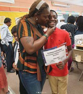 2face 3 1 267x300 - [PHOTOS]: 2Face's son, Justin Idibia Graduates From 5th Grade