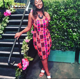 PHOTOS]: Omotola Jalade's Daughter, Meraiah Graduates From The Fashion Institute Of Design In Los Angeles