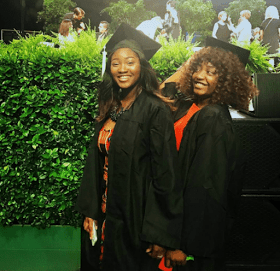 PHOTOS]: Omotola Jalade's Daughter, Meraiah Graduates From The Fashion Institute Of Design In Los Angeles