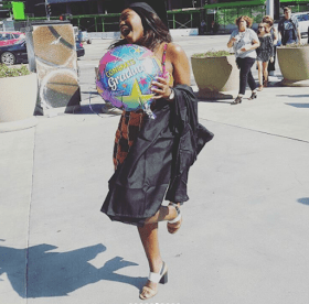 5 1 1 - [PHOTOS]: Omotola Jalade's Daughter, Meraiah Graduates From The Fashion Institute Of Design In Los Angeles