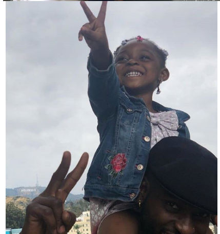 5 2 - [Photos]: Osas Ighodaro and Gbenro Ajibade celebrate their daughter's 3rd birthday in the US