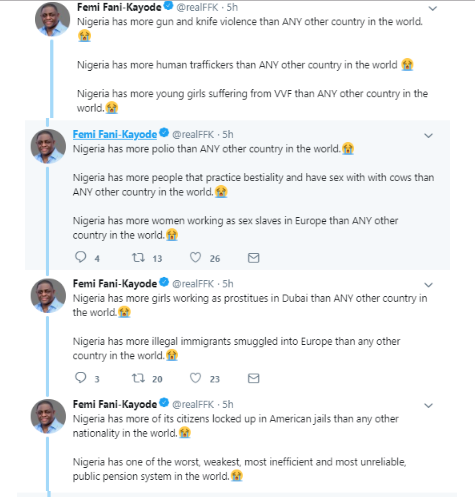 5 - 'There are more Nigerian prostitutes in Dubai than any other nationality' – FFK