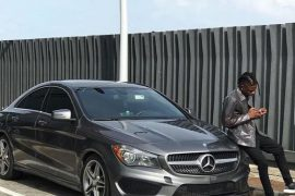 [Photos]: Lil Kesh flaunts new Benz