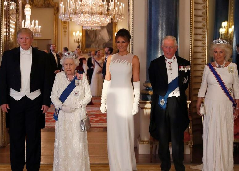 [Photos]: 'The Queen has been fantastic' - Trump shares his experience with the Royal Family