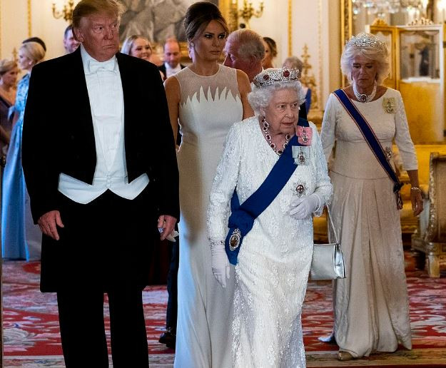5cf590e83c015 - [Photos]: 'The Queen has been fantastic' – Trump shares his experience with the Royal Family