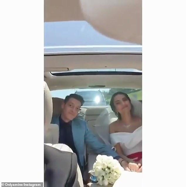 5cfa9ae8e5d7a - [Photos]: Arsenal star Mesut Ozil ties the knot with 2014 Miss Turkey Amine Gulse
