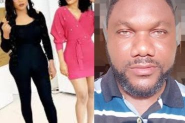 [Video]: 'I am ashamed that you are friends with Bobrisky' - Nollywood actor comes for Tonto Dikeh