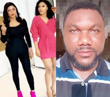 5d07a011ecf64 - [Video]: 'I am ashamed that you are friends with Bobrisky' – Nollywood actor comes for Tonto Dikeh