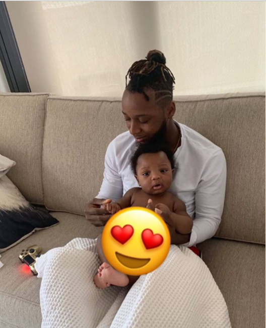 'You defined the meaning of love to me' - Yung6ix gushes over his son