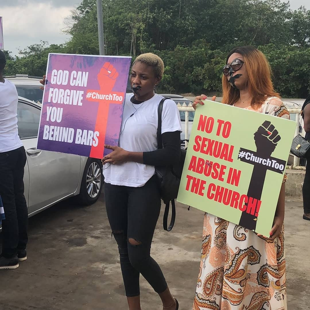 [Photos/video]: COZA beefs up security for Sunday service