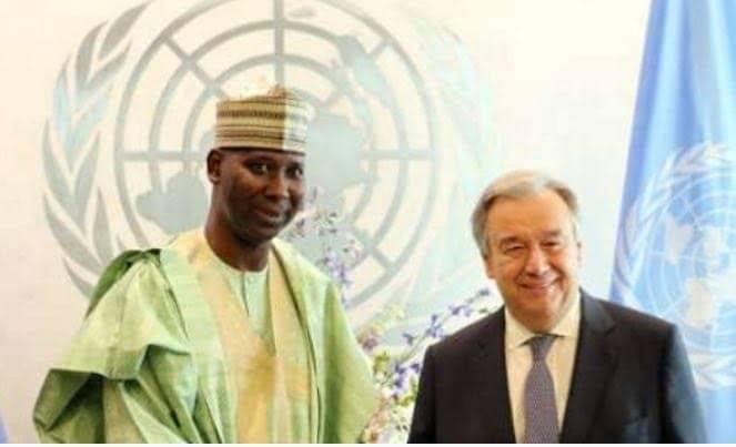 61387963 10217101755830469 7638742371231858688 n - Tijjani Muhammed-Bande, Nigeria Representative to UN Has Been Elected UN President