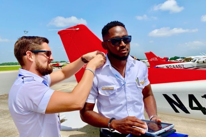 2018 BBNaija winner Miracle Ikechukwu qualifies as pilot in the US