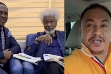 'I would have asked Soyinka to leave my seat as well' – Daddy Freeze